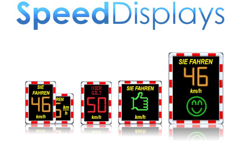 Geschwindigkeitsanzeige durch Speed Display